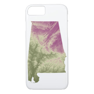 Alabama Green to Purple Phone Case