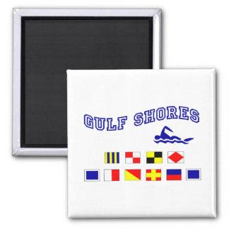 Alabama Gulf Shores 1 Square Magnet