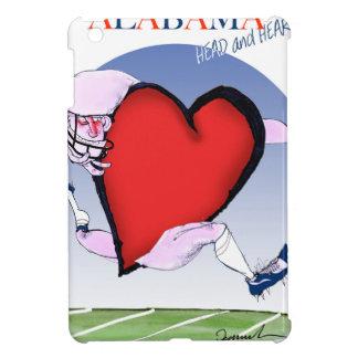 alabama head heart, tony fernandes iPad mini cover