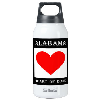Alabama Heart of Dixie Insulated Water Bottle