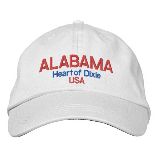 Alabama* Heart of Dixie USA Hat Baseball Cap