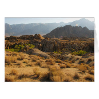 Alabama Hills - First Encounter Greeting Card