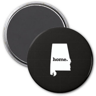 Alabama Home 7.5 Cm Round Magnet