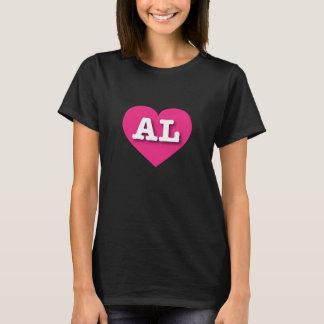 Alabama hot pink heart - Big Love T-Shirt