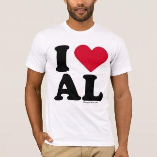 ALABAMA - I LOVE AL - I LOVE ALABAMA T-Shirt