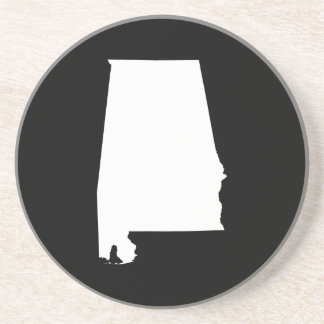 Alabama in White Coaster