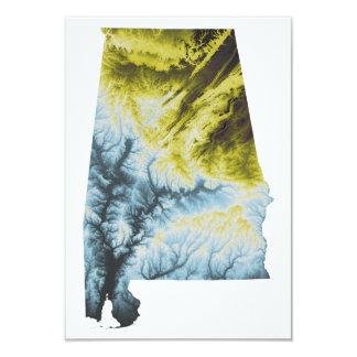 "Alabama Invitation- 3.5x5""- Matte Card"