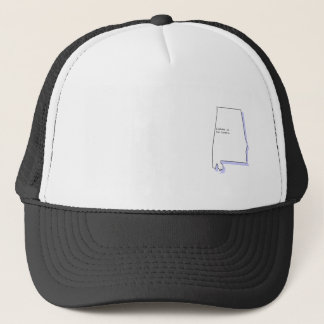 Alabama is for lovers trucker hat