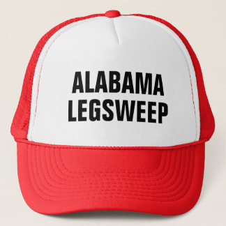 Alabama Leg Sweep Trucker Hat