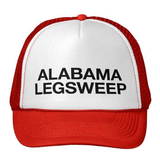 ALABAMA LEGSWEEP fun slogan trucker hat