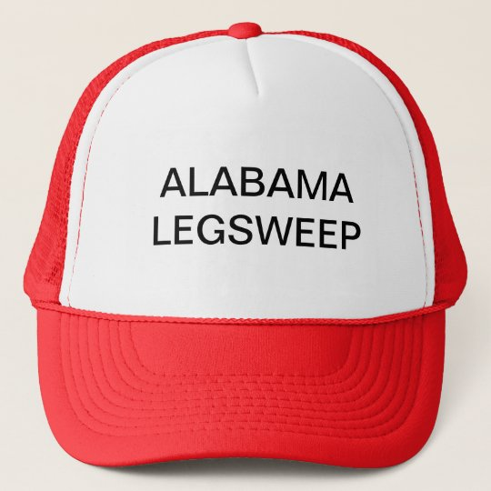 ALABAMA LEGSWEEP TRUCKER HAT
