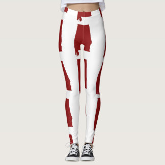 ALABAMA MAP LEGGINGS