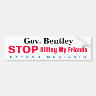 Alabama Medicaid Friends Bumper Sticker