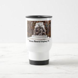 Alabama Memorial Gettysburg PA Travel Mug