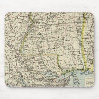 Alabama, Mississippi, Louisiana, Arkansas Mouse Mat