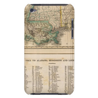 Alabama, Mississippi, Louisiana iPod Touch Cover
