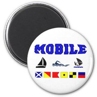 Alabama Mobile 2 6 Cm Round Magnet