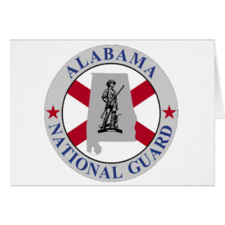 ALABAMA NATIONAL GUARD GREETING CARD