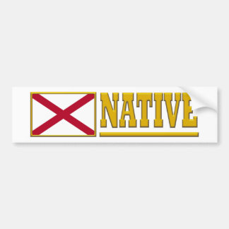 Alabama Native Bumper Sticker