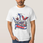 Alabama Patriotism Butterfly T Shirts