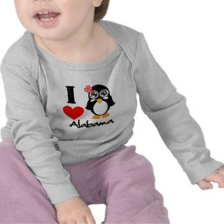 Alabama Penguin - I Love Alabama Tees