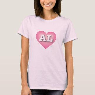 Alabama pink fade heart - Big Love T-Shirt
