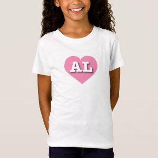 Alabama Pink Heart - Big Love T-Shirt