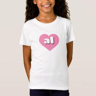 Alabama pink heart - mini love T-Shirt