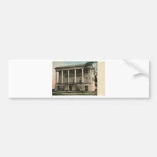 Alabama President's Mansion Bumper Sticker