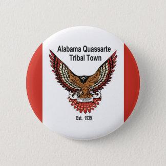 Alabama Quassarte Tribal Town 6 Cm Round Badge