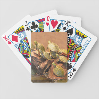 Alabama Red Bellied Turtle 2 (Alabama) Bicycle Playing Cards