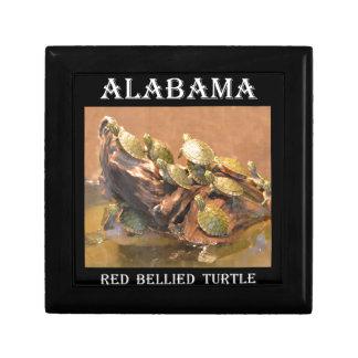 Alabama Red Bellied Turtle 2 (Alabama) Trinket Boxes