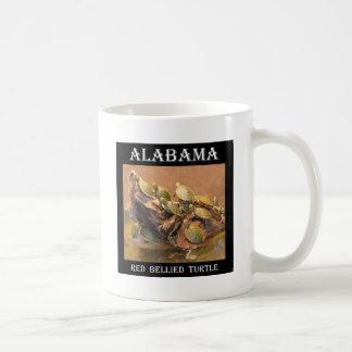 Alabama Red Bellied Turtle 2 (Alabama) Classic White Coffee Mug