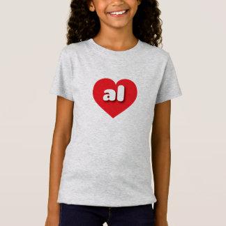 Alabama red heart - mini love T-Shirt