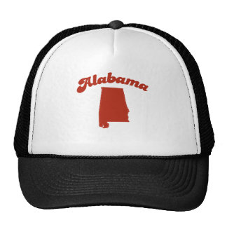 ALABAMA Red State Trucker Hats