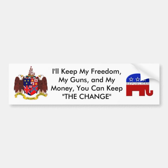 Alabama Republican Bumper Sticker