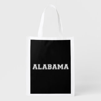Alabama Reusable Grocery Bag