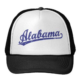 Alabama script logo in blue cap