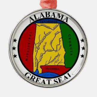 Alabama seal united states america flag symbol rep christmas ornament