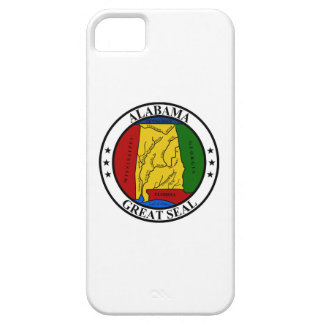 Alabama seal united states america flag symbol rep iPhone 5 cover