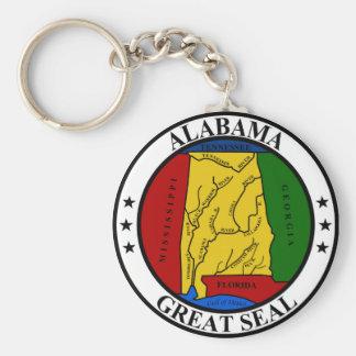 Alabama seal united states america flag symbol rep key ring