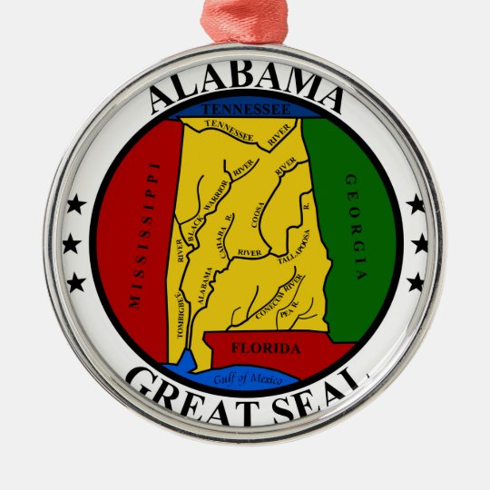 Alabama seal united states america flag symbol rep