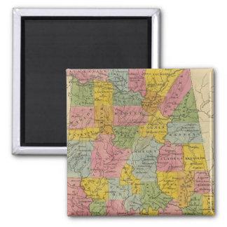 Alabama Square Magnet