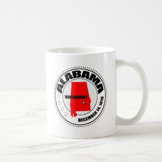 Alabama Stamp Coffee Mug