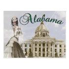 Alabama State Capital Building Montgomery Postcard