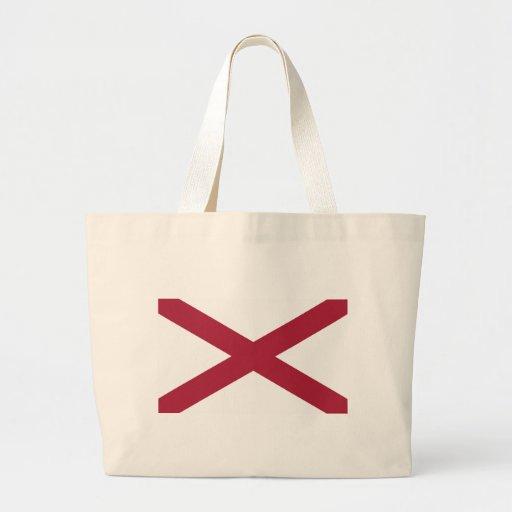Alabama State Flag Canvas Bag