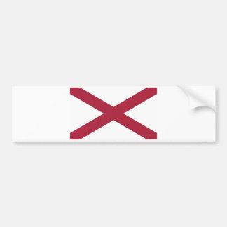 Alabama State Flag Bumper Stickers