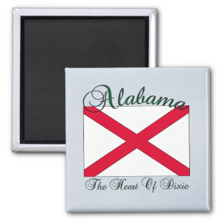 Alabama State Flag Magnet