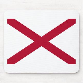 Alabama State Flag Mouse Pads