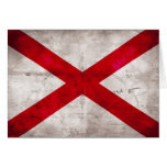 Alabama State Flag Stationery Note Card